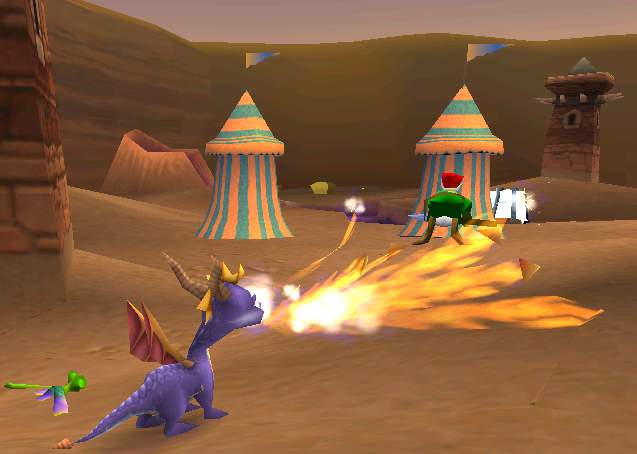 Spyro world 2