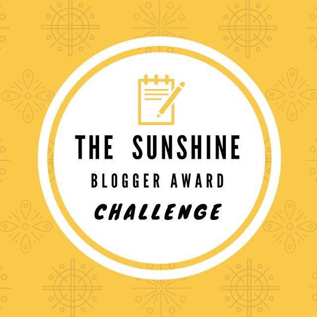 Sunshine bloger award